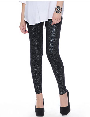 Foiled Knit Leggings ($24)