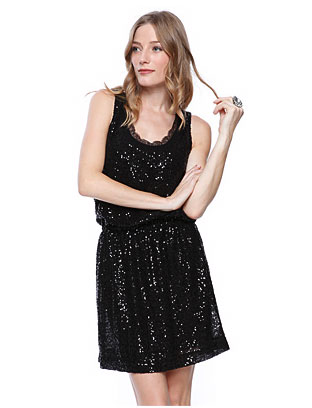 Sleeveless Sequin Dress ($33)