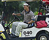 Slide Picture of Matthew McConaughey Golfing in China