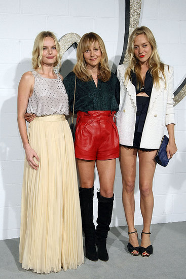 Celine's Phoebe Philo — here with Kate Bosworth and Chloe Sevigny — has impeccable fashion sense. She just gets it.
