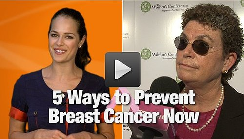 5 Tips From Dr. Susan Love to Prevent Breast Cancer