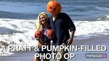 Video of Heidi Montag and Spencer Pratt Posing With Pumpkins on the Beach For Halloween 2010-10-29 12:07:37