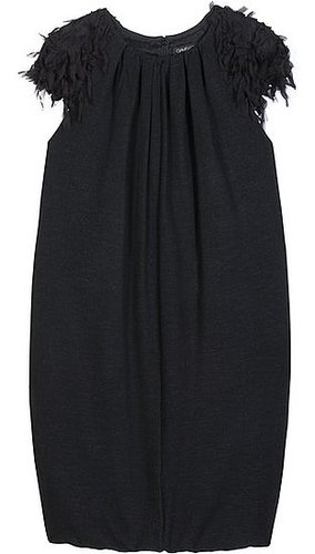 Giambattista Valli - DETAILED SLEEVE WOOL BLEND DRESS