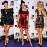 Pictures of Women Red Carpet at MTV EMAs 2010 Including Katy Perry, Shakira, Eva Longoria, Kesha, Rihanna, Miley Cyrus