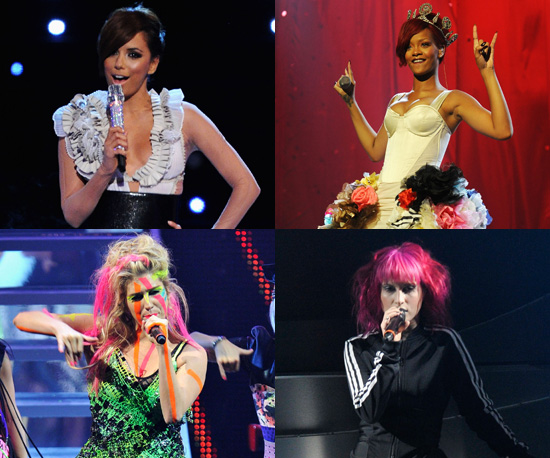 Photos On Stage Style at the 2010 MTV Europe Music Awards in Madrid