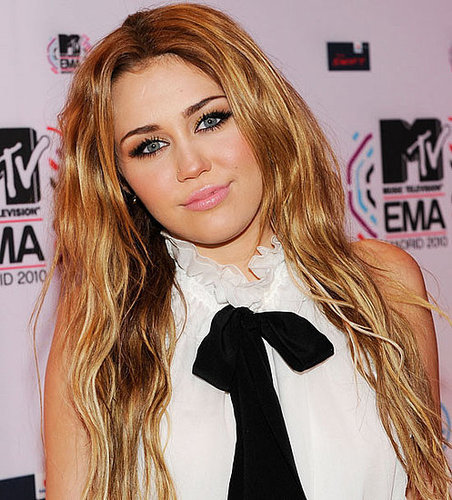 miley cyrus 2010 mtv europe awards