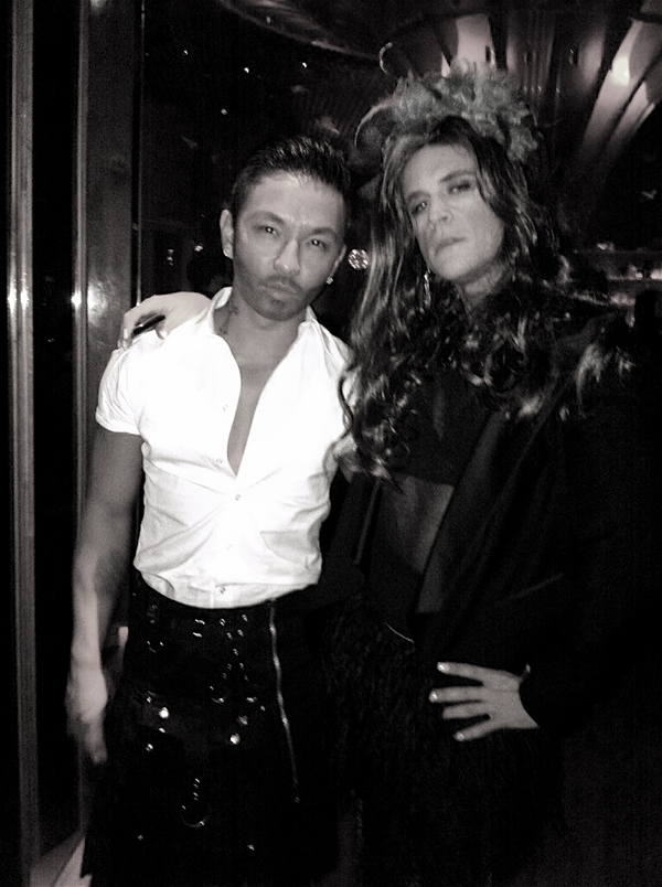 Prabal Gurung as Marc Jacobs, Brad Goreski as Anna Dello Russo