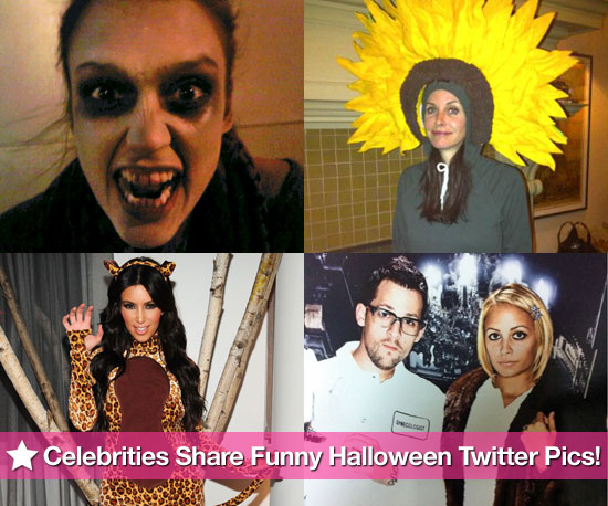 Celebrities Share Funny Halloween Twitter Pictures!