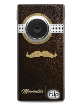 Pictures of Movember Flip Video Cameras