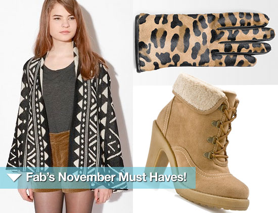 FabSugar's November Must Haves