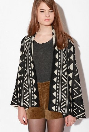 A printed sweater like this Dolce Vita Tammy Sweater ($240) can provide instant sass.