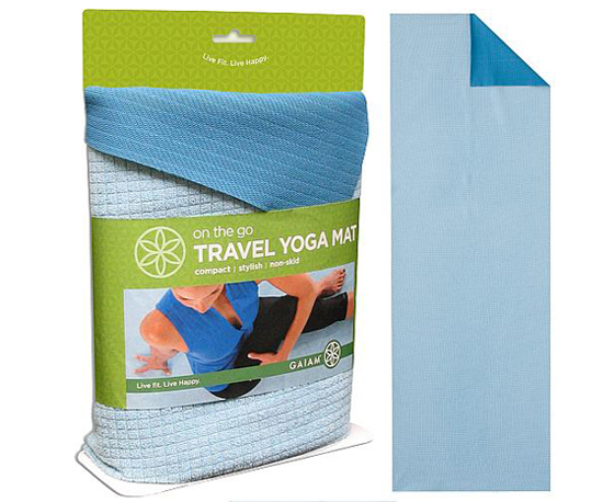Gaiam Travel Yoga Mat