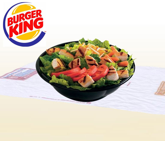 Burger King's Tendergrill Chicken Salad