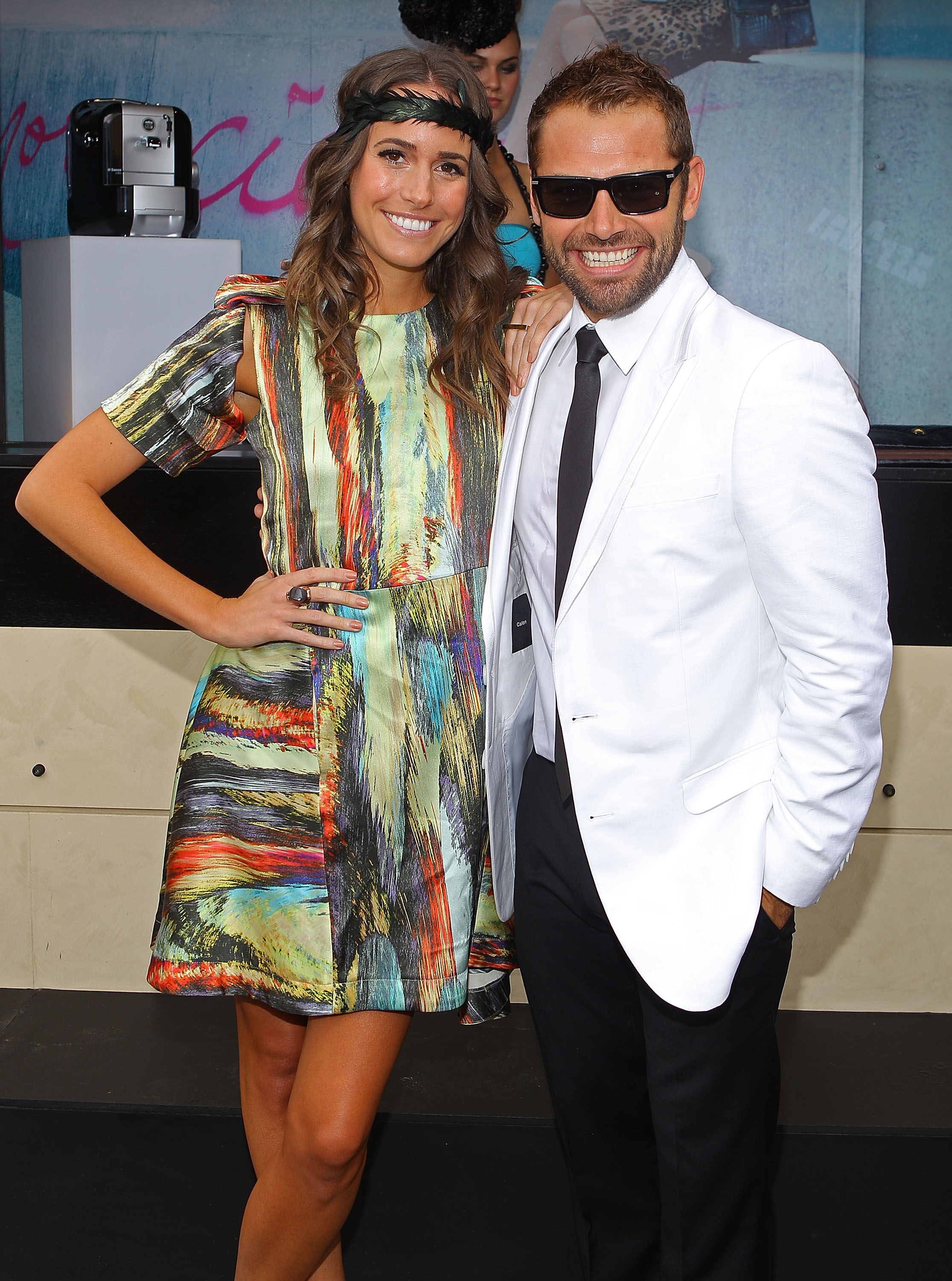 Louise Roe and Daniel Macpherson