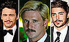 Movember 2010: Pictures of Celebrities with Moustaches Including Brad Pitt, Zac Efron, Jackson Rathbone and Johnny Depp