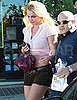 Pictures of Britney Spears Running Errands in LA