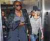 Slide Picture of Heidi Klum and Seal at LAX