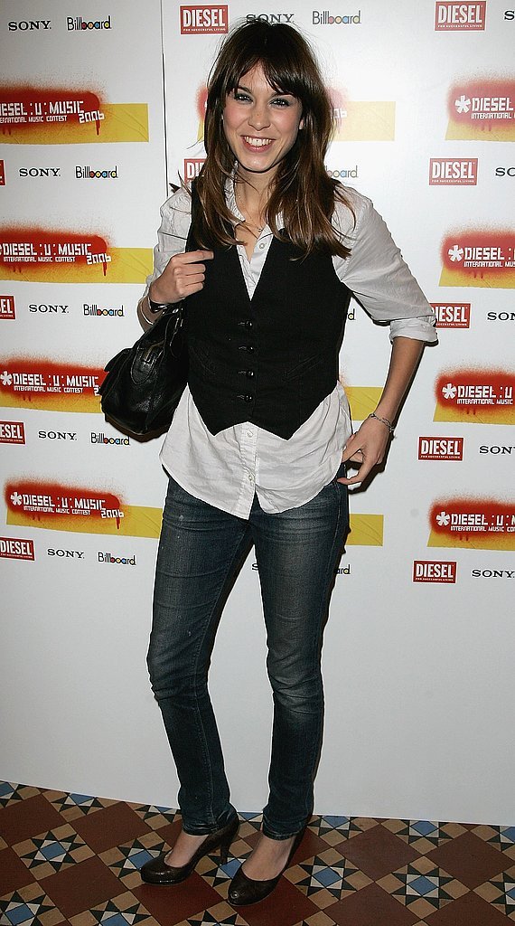 Vesting it at the Diesel: U: Music Awards in '06.
