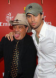 Molly Meldrum and Enrique Iglesias
