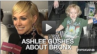 Video of Ashlee Simpson With Short Hair Talking About Bronx 2010-11-03 12:45:00
