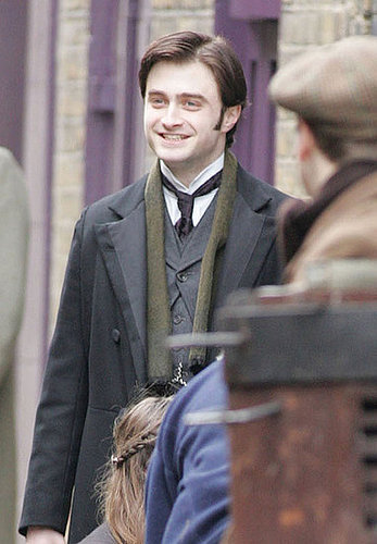 Pictures of Daniel Radcliffe on Set of The Woman in Black