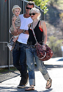 Pictures of Gwen Stefani, Gavin and Zuma Rossdale in LA