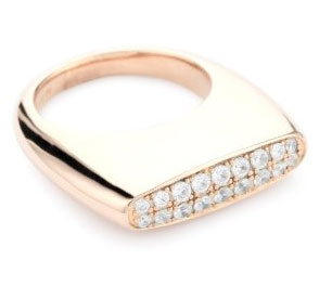 Soho Sterling Silver Pave Ring ($103)