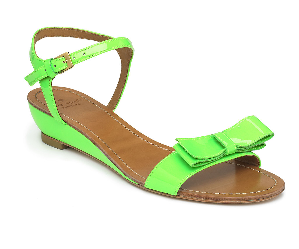 Green Bow Sandal, $225