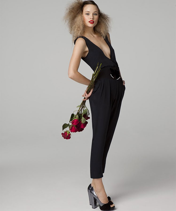 Silk Jumpsuit, $248
