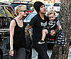Slide Picture of Ashlee Simpson and Bronx Wentz in LA