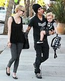 Pictures of Ashlee Simpson With Pete Wentz and Bronx