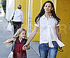 Pictures of Jennifer Garner and Violet Affleck Leaving School in LA