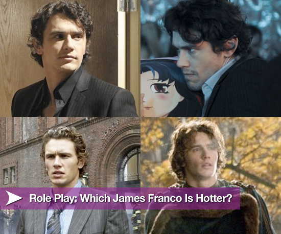 Role Play: Which James Franco Is Hotter?