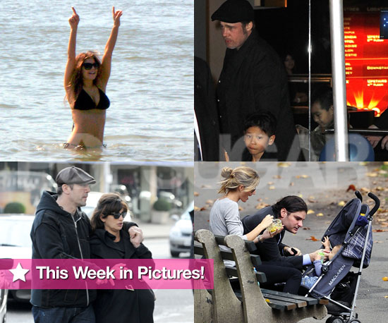 Pictures of Brad Pitt, Fergie in a Bikini, and More in PopSugar's Week in Photos