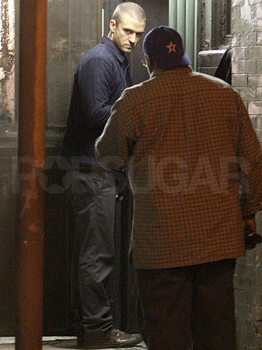 Pictures of Justin Timberlake Filming Now in LA