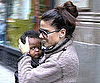Slide Picture of Sandra Bullock With Louis in NYC