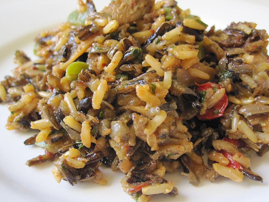 Wild Rice and Mushroom Dressing Recipe | POPSUGAR Food