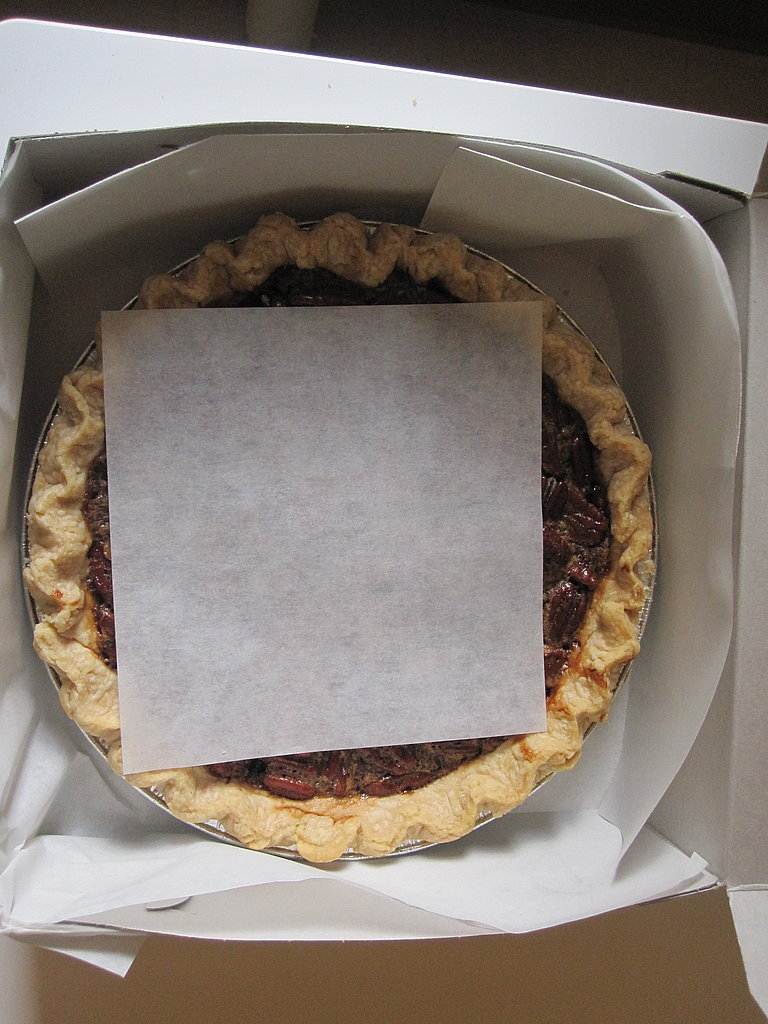 How to Transport Pie