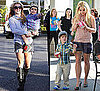 Pictures of Britney Spears With Sean Preston in LA