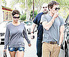 Slide Picture of Halle Berry and Olivier Martinez in LA