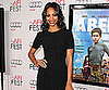 Slide Picture of Zoe Saldana at Abel Screening in LA