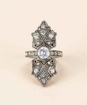 Antique Deco Ring ($88)