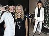 Heidi Klum and Rachel Zoe at a Dinner at LA Palihouse