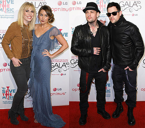 Pictures of Lauren Conrad, John Mayer, and Joel Madden at VH1's Save the Music Event 2010-11-09 10:30:00