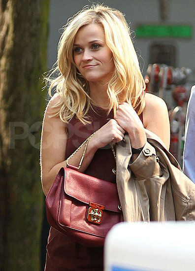 Pictures of Reese on Set