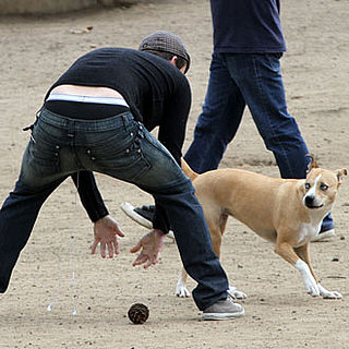 Guess Who Showed Off His Briefs at the Dog Park?