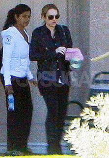 Pictures of Lindsay Lohan Leaving Rehab