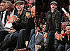 Justin Timberlake at a Lakers Game