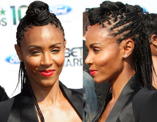 A Braided Faux-Hawk