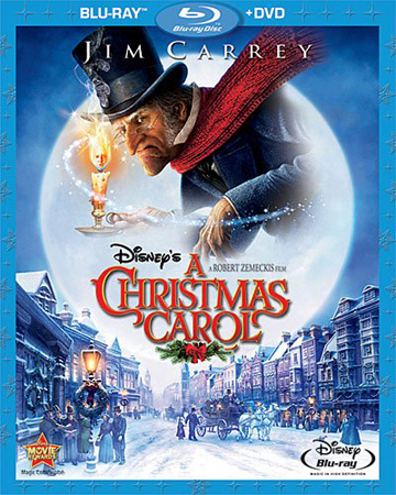 Disney's A Christmas Carol (Two-Disc Blu-ray/DVD Combo), $24